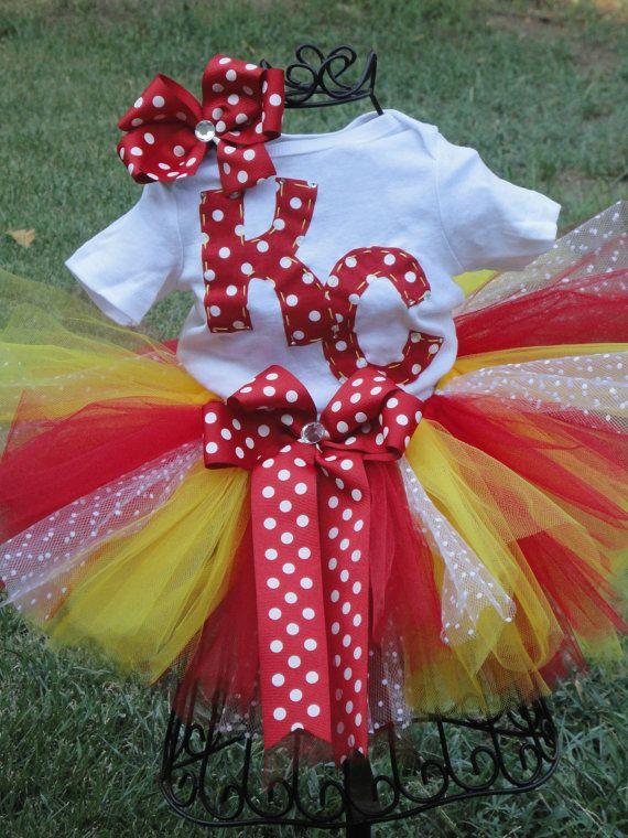 d3e2e7d5 KC Chiefs Tutu Outfit....FREE hairbow. | Cute as a Cupcakke | Tutu ...