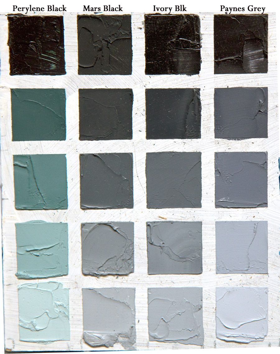 How To Mix The Color Of Bone With Oil Paint