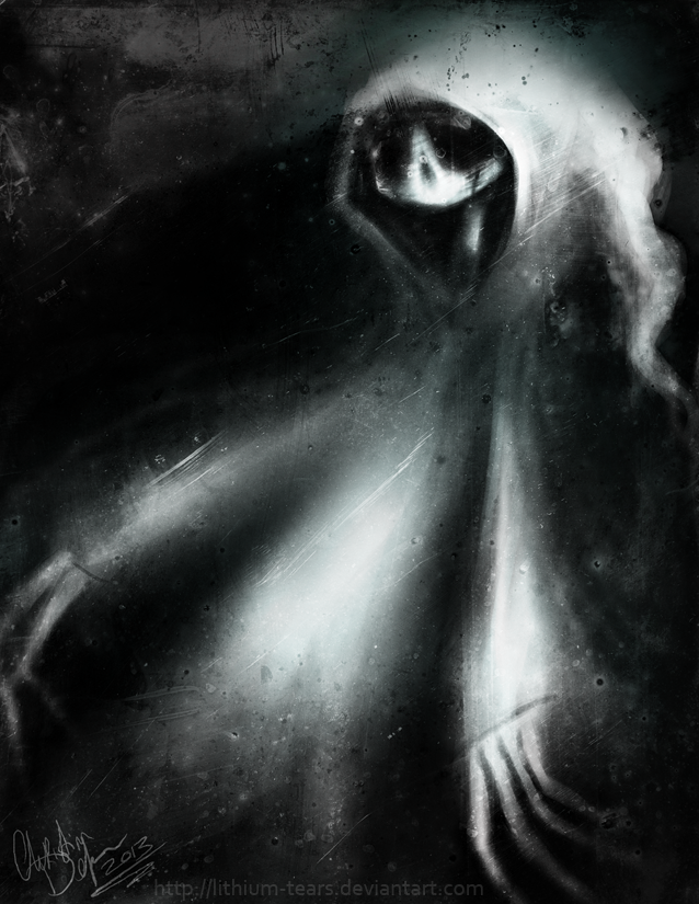Lonely Ghost by Lithium-Tears.deviantart.com on @deviantART