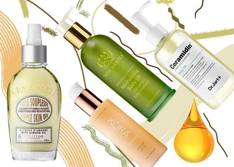 17 best body oils to buy for moisturized glowing skin