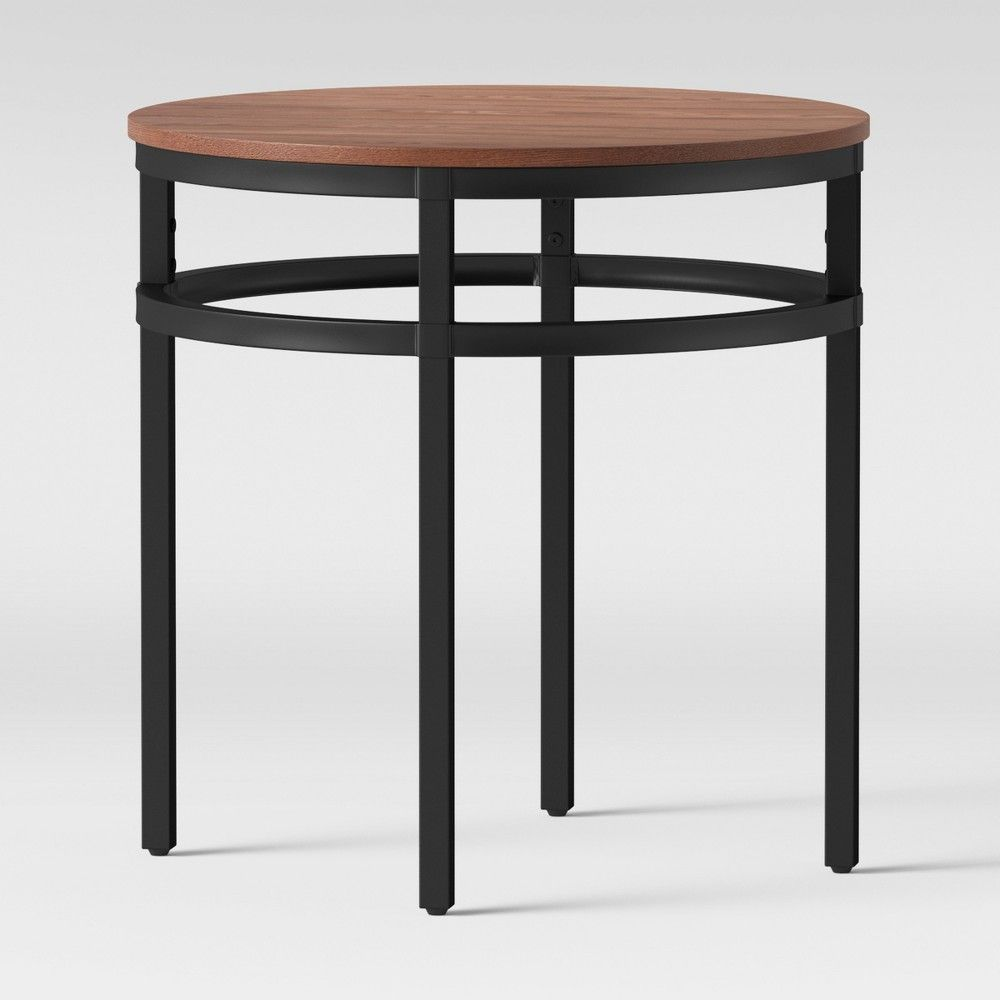 Ellsworth Wood Metal Accent Table Threshold Metal Accent Table