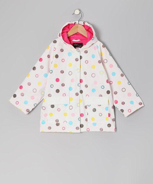 fc9914f278446 Polka Dot Raincoat - Infant