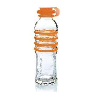 $29.95 Bottles Up Glass Water Bottle - Orange #BU-ORG