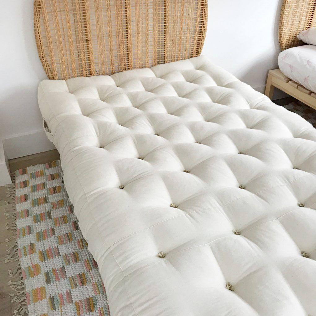 7″ Twin XL Wool Mattress DIY decor Mattress, Twin xl