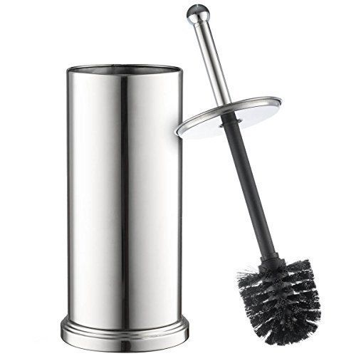 Price Tracking For Home It Toilet Brush Set Chrome Toilet Brush For Tall Toilet Bowl And Toilet Brush Holder With Lid Great Toilet Bowl Cleaner 3936587 Price In 2020 Toilet Bowl