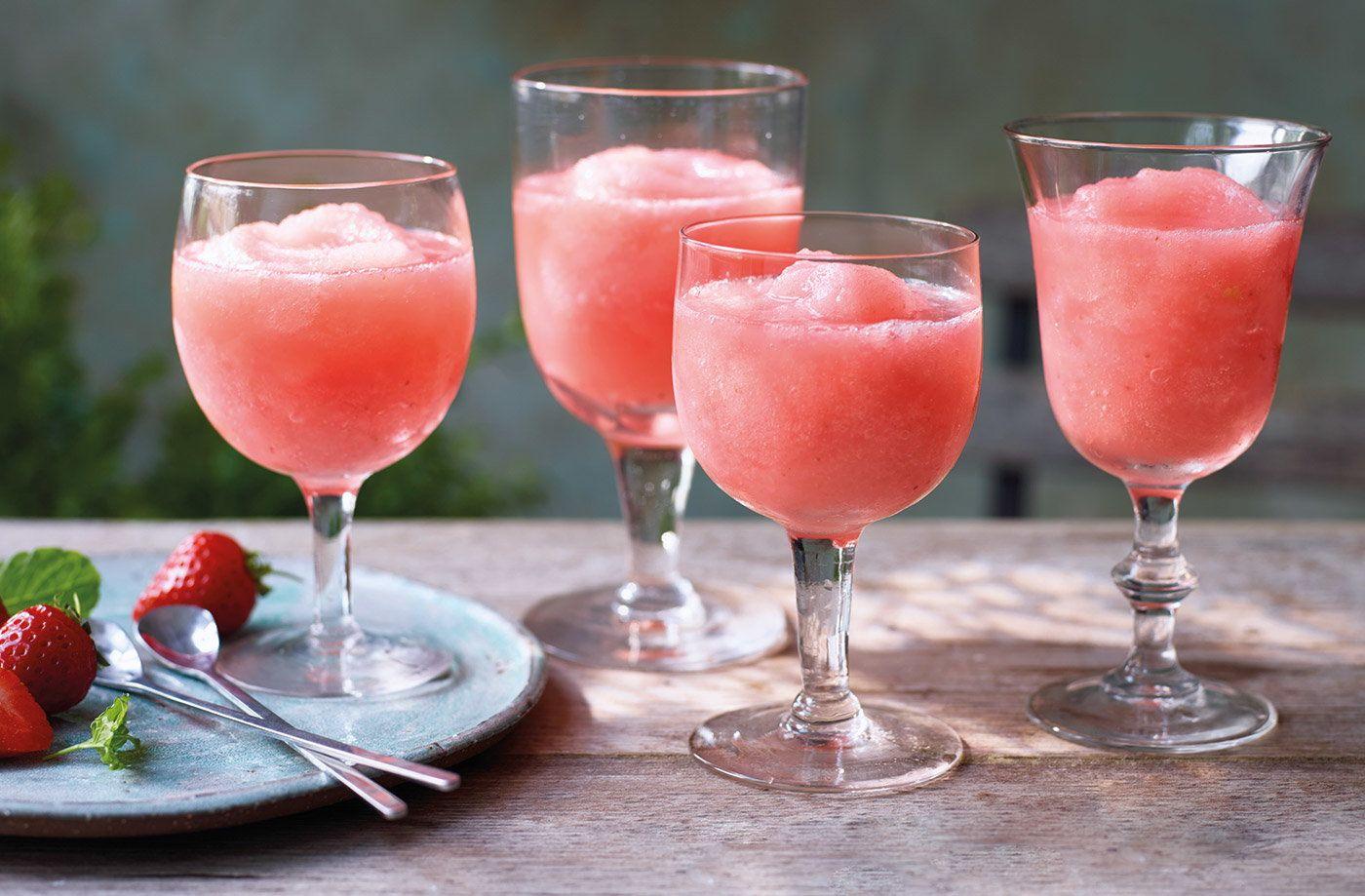 Strawberry Frose Recipe Summer Cocktails Tesco Real Food Recipe Tesco Real Food Strawberry Recipes Summer Cocktails