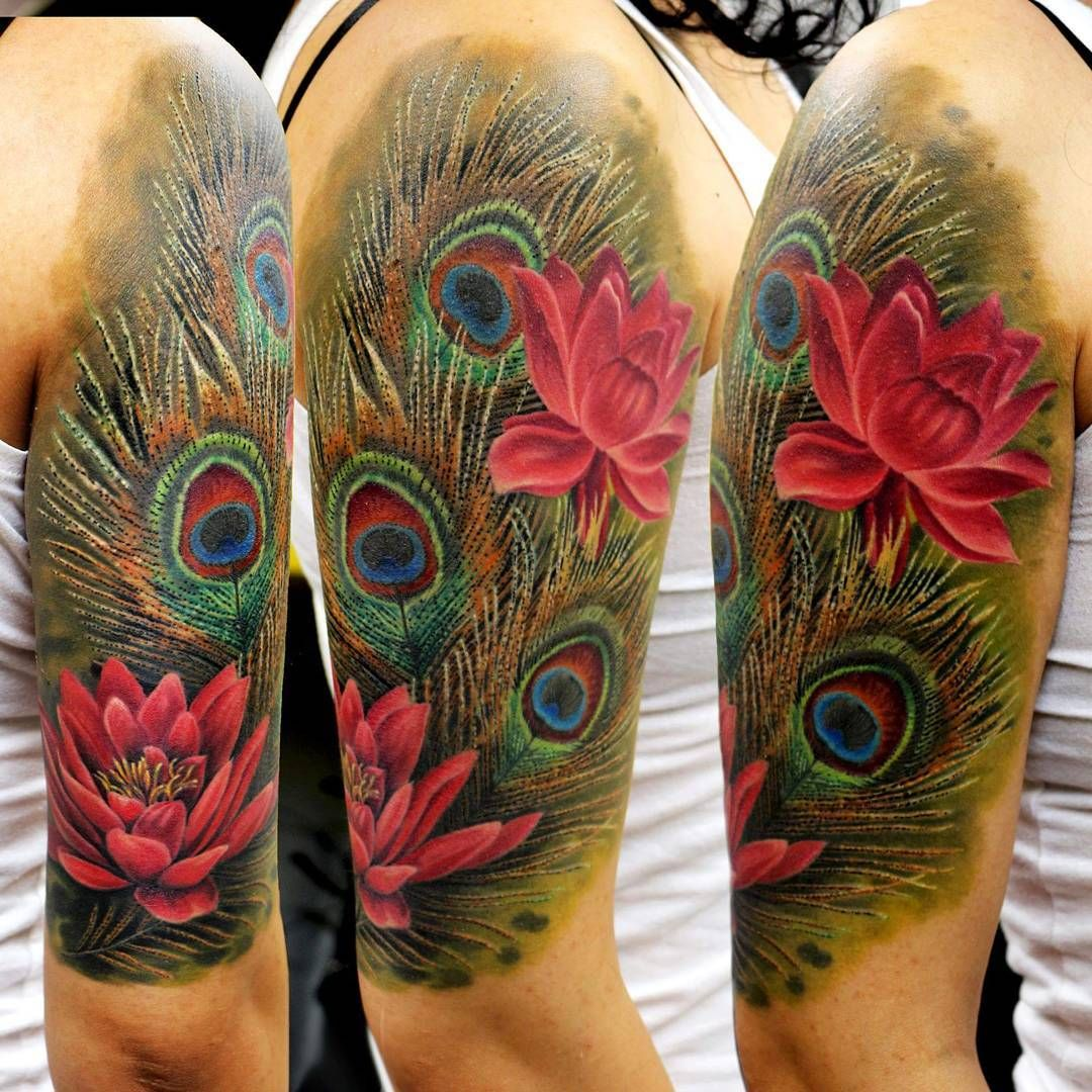 Peacock Feather Tattoo Tattoo Ideas And Inspiration Kharistattoos Peacock Feather Tattoo Feather Tattoos Feather Tattoo Black
