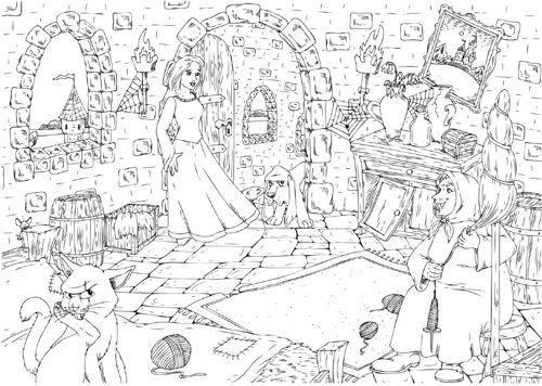 zaubereinmaleins  designblog  coloring pictures