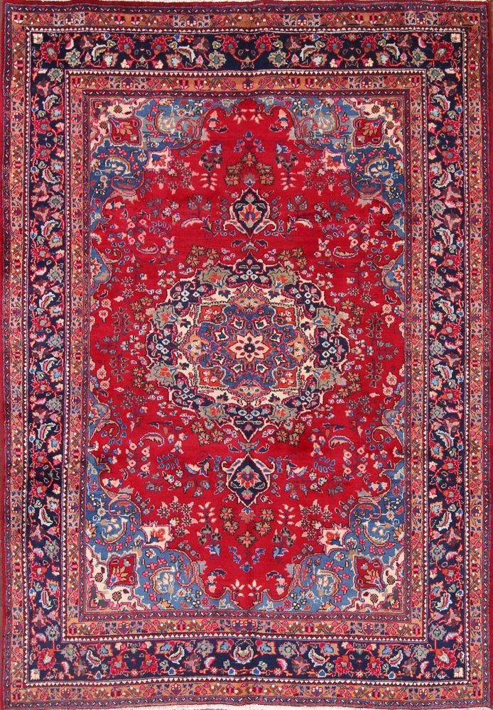 Style Mashad Persian Rugs Oriental Rugs Oversized Rug Oversized Runner Antique Rugs Press To Translate Colors Oriental Area Rugs Rugs Oversized Rugs