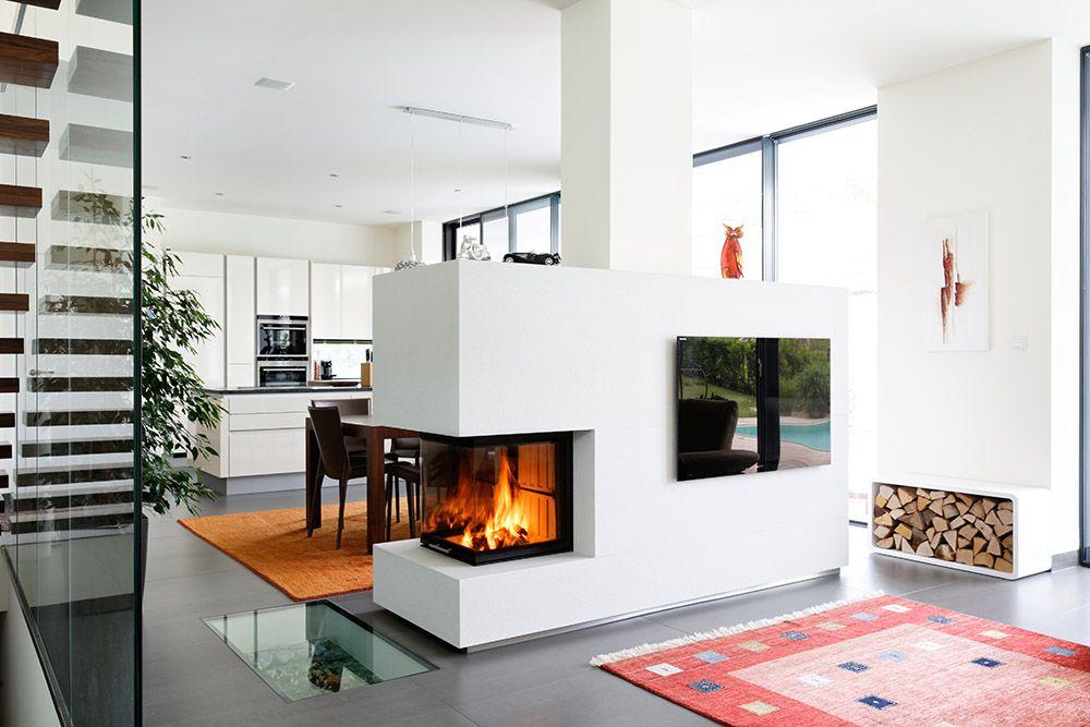 Moderne Kamine Als Raumteiler bildergebnis für kachelofen modern als raumteiler ofen