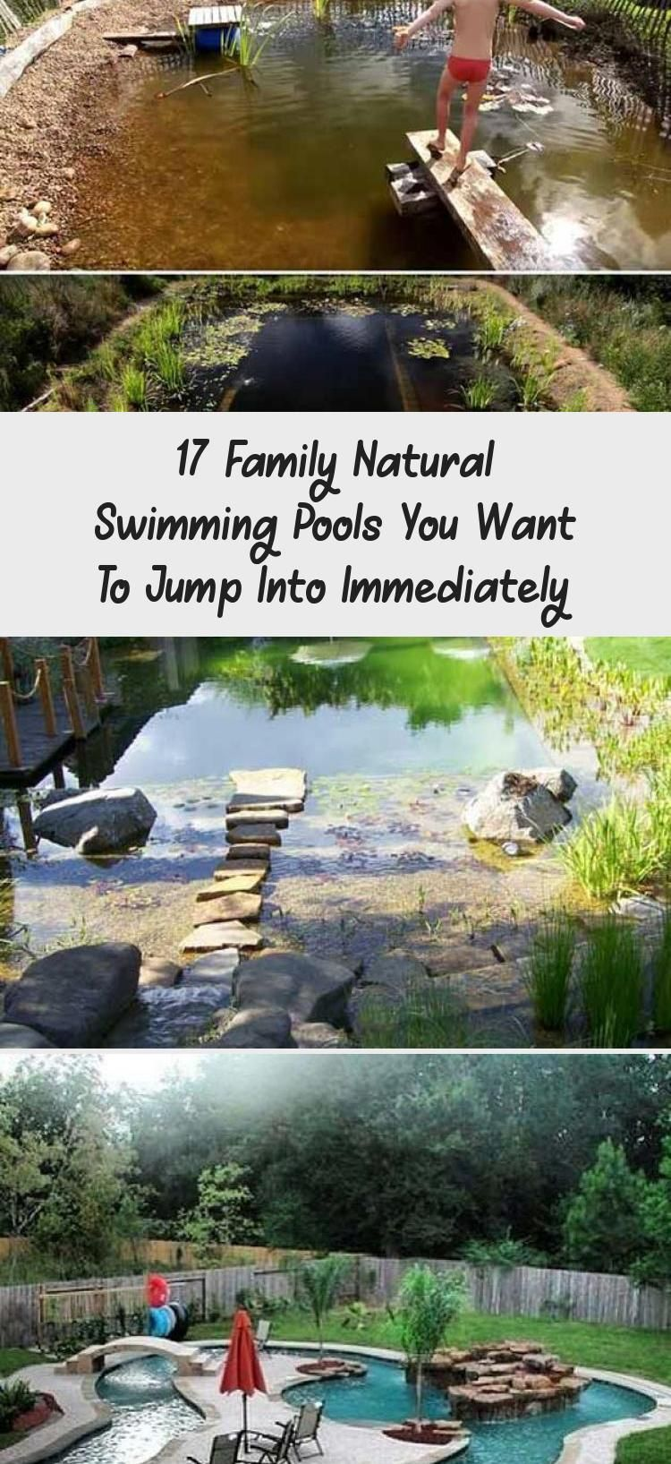 Photo of 17 Family Natural Swimming Pools You Want To Jump Into Immediately – Decor Dıy