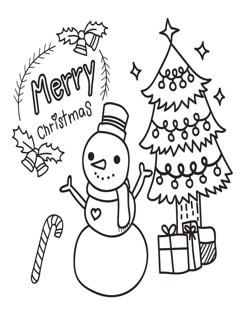 Printable Christmas Coloring Pages For Kids 60 Xmas Coloring Etsy Printable Christmas Coloring Pages Christmas Coloring Books Coloring Pages For Kids