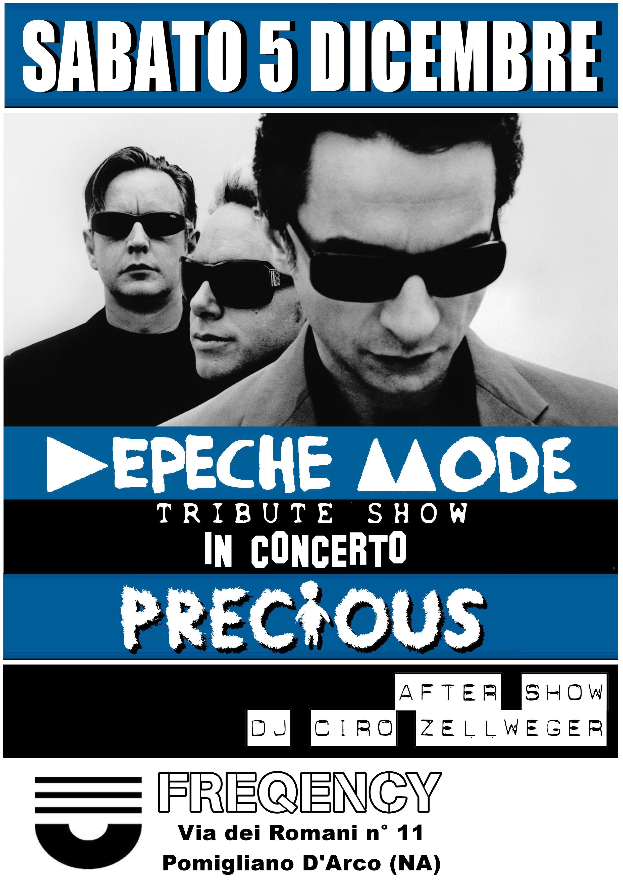 Via Romani Pomigliano D Arco sabato 5 dicembre depeche mode tribute party al freqency di