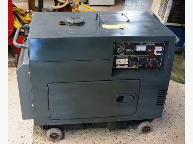950 King Canada Powerforce 5000 Watt Silent Diesel Generator I 51747 Diesel Generators Silent Generator Diesel