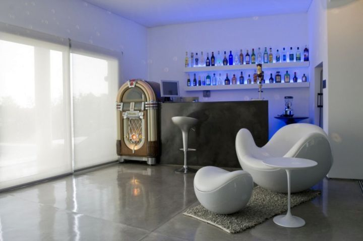 Modern home bar design with jukebox #nice #comfy | Home Bars | Pinterest