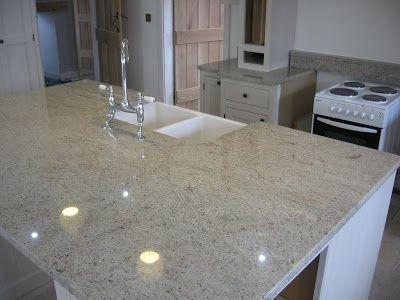 Ivory Fantasy Granite Kitchen Worktop