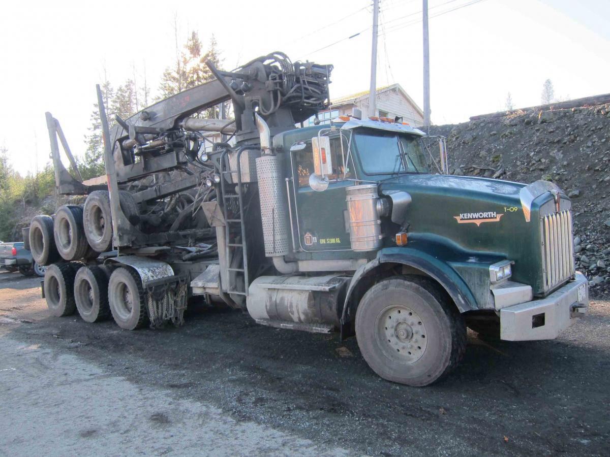 kenworth t800 log truck peterbilt cool trucks volvo rigs ford motorcycles [ 1200 x 900 Pixel ]