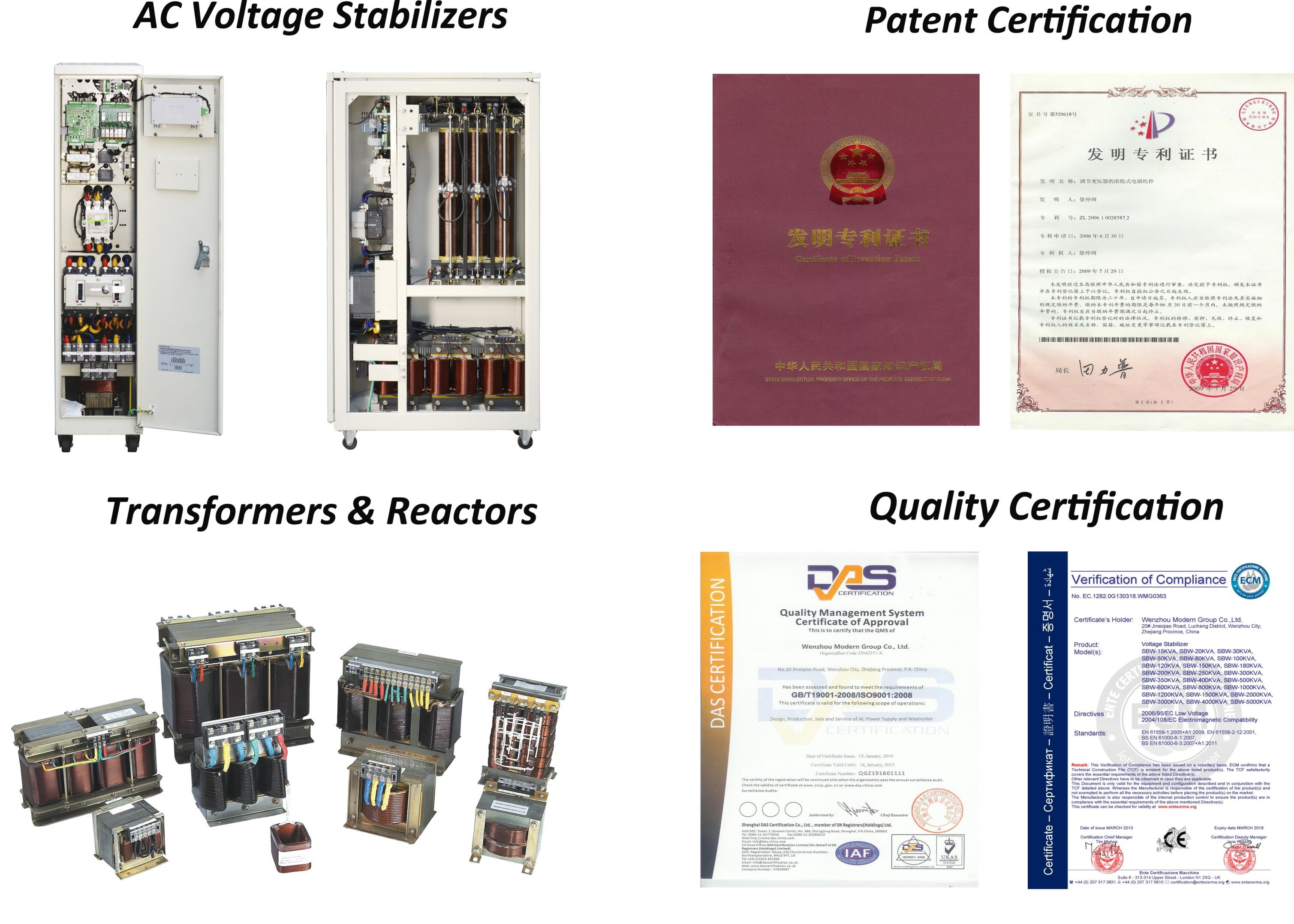 Welcome To Our Product Center For Patent Designed Voltage Stabilizer And Transformer Wenzhou Voltage Regulator Solutions