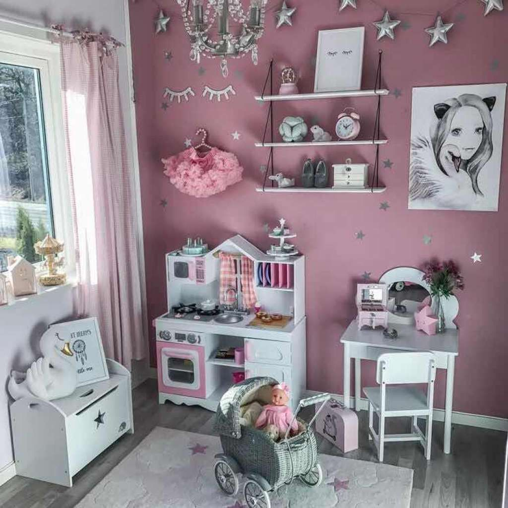 Como Decorar Un Cuarto De Juegos Para Ninas Moderno Y Con Estilo Childrens Bedroom Decor Bedroom Decor Decor