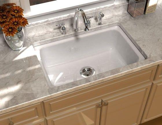 Song S 8410 5u Encore Cast Iron Undercounter Single Bowl Kitchen Sink Single Bowl Kitchen Sink Drop In Kitchen Sink Cast Iron Kitchen Sinks