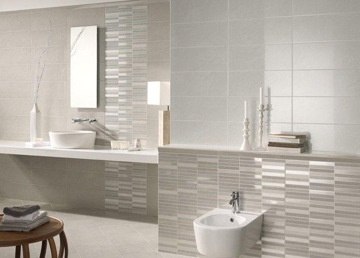 Rivestimento da bagno Fashion grigio - Ceramica Vallelunga ...