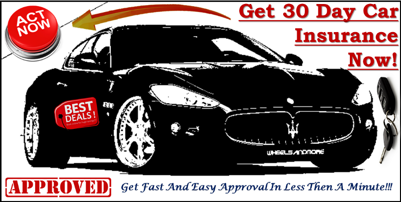 30 Day Car Insurance With Low Mileage Discount Rates Online Car