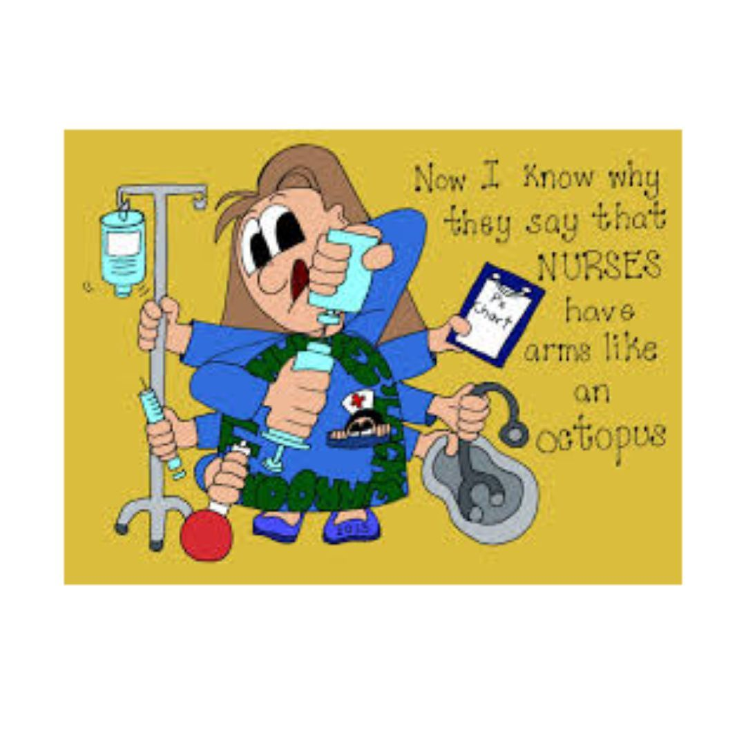 How many things can you fit in your pocket? Nurse humor