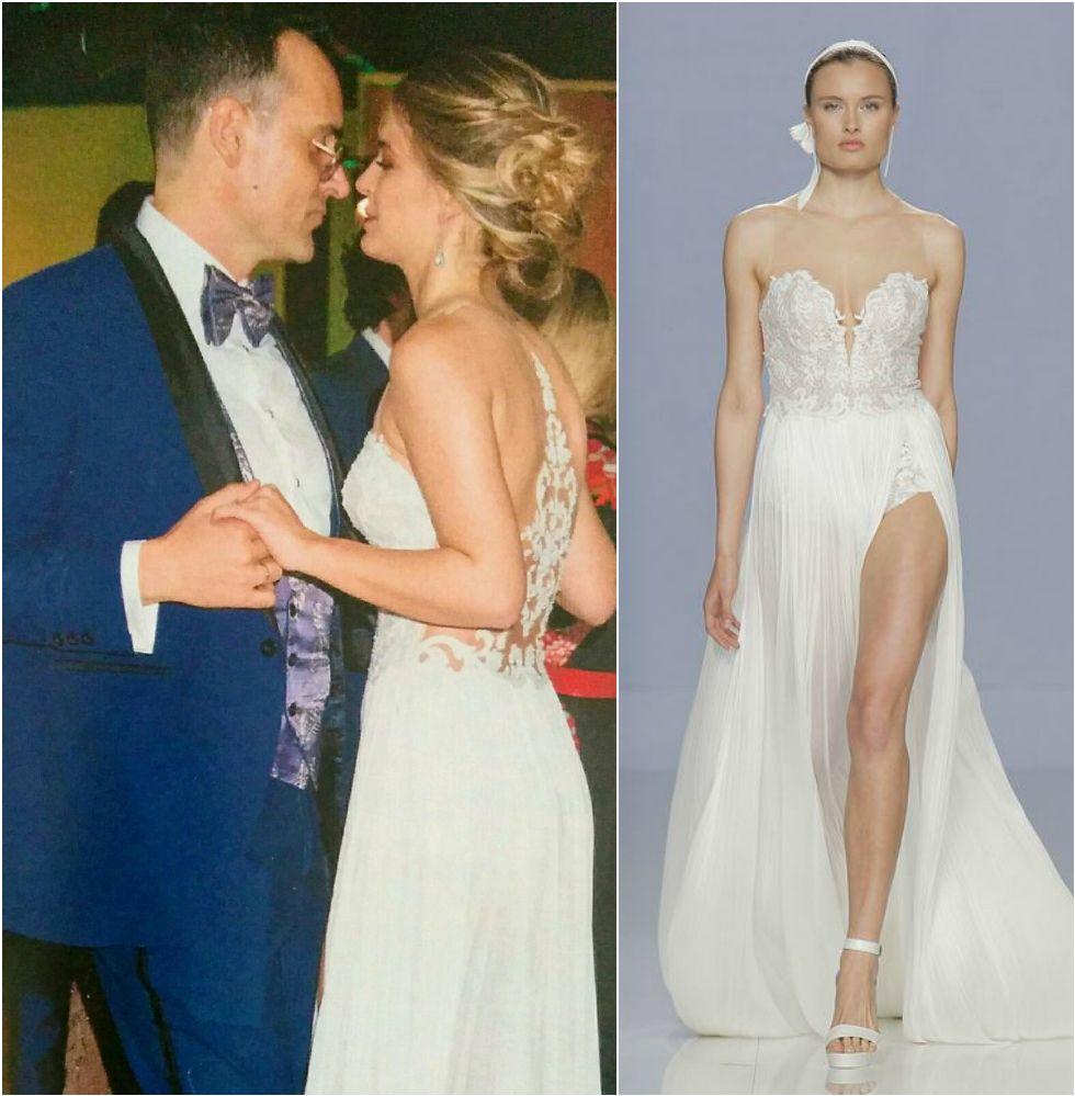 dac06dc0 Los detalles de la boda de Risto Mejide y Laura Escanes - Bailarinas  Plegables