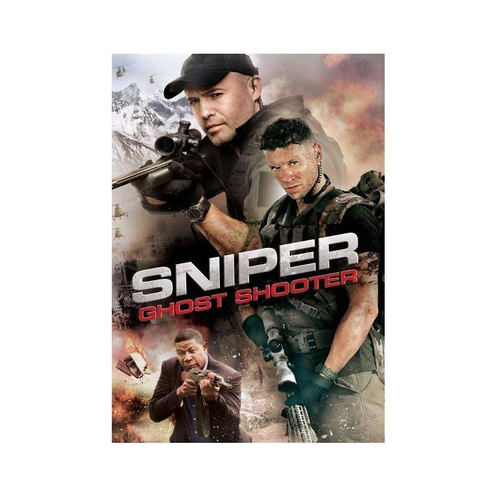Sniper Ghost Shooter Dvd 2016 Sniper Michael Collins Thriller