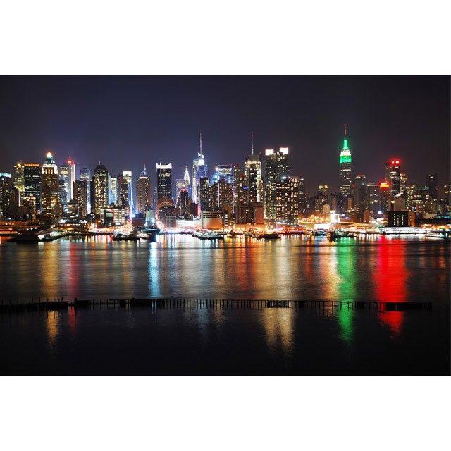 Tableau en plexi new york by night http designdunjour - Cadre lumineux new york ...
