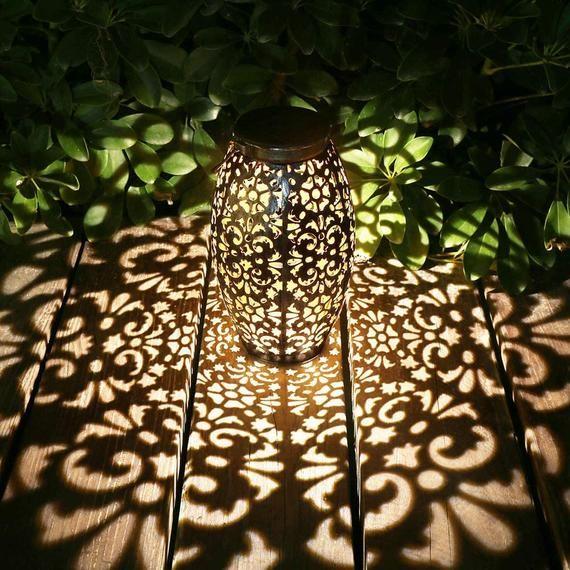 hanging solar lantern for patio lawn backyard landscaping pathway yard lights garden lanterns outdoor string white cord