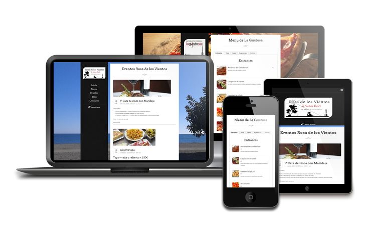 We have recently finished this new website for Grupo La Gustosa. This is a restaurant website; it shows the menus of both restaurants, events and has two blogs. This site is fully responsive and mobile-friendly.