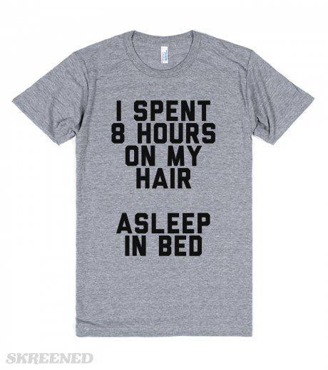 Pro Bed Head   Aka bed head. Own it girl. #Skreened