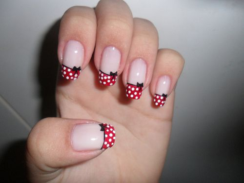 We'll take a look at the most unique and beautiful Minnie Mouse nail designs  there are. - Another One Of The Classic Disney Cartoon Characters Is Minnie