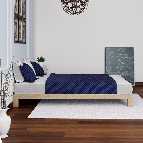 Motif Design Aura Deluxe Platform Bed Gold 250 Rentalbh