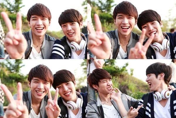 high school love on woohyun sungyeol pictwittercom
