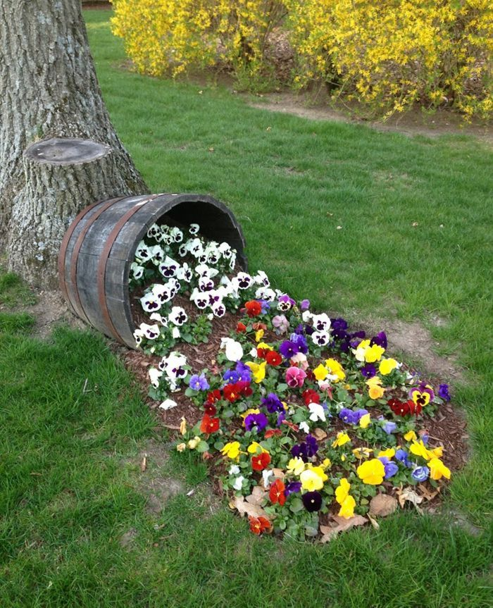 90 Deko Ideen zum Selbermachen für sommerliche Stimmung im Garten - gartengestaltung neue ideen