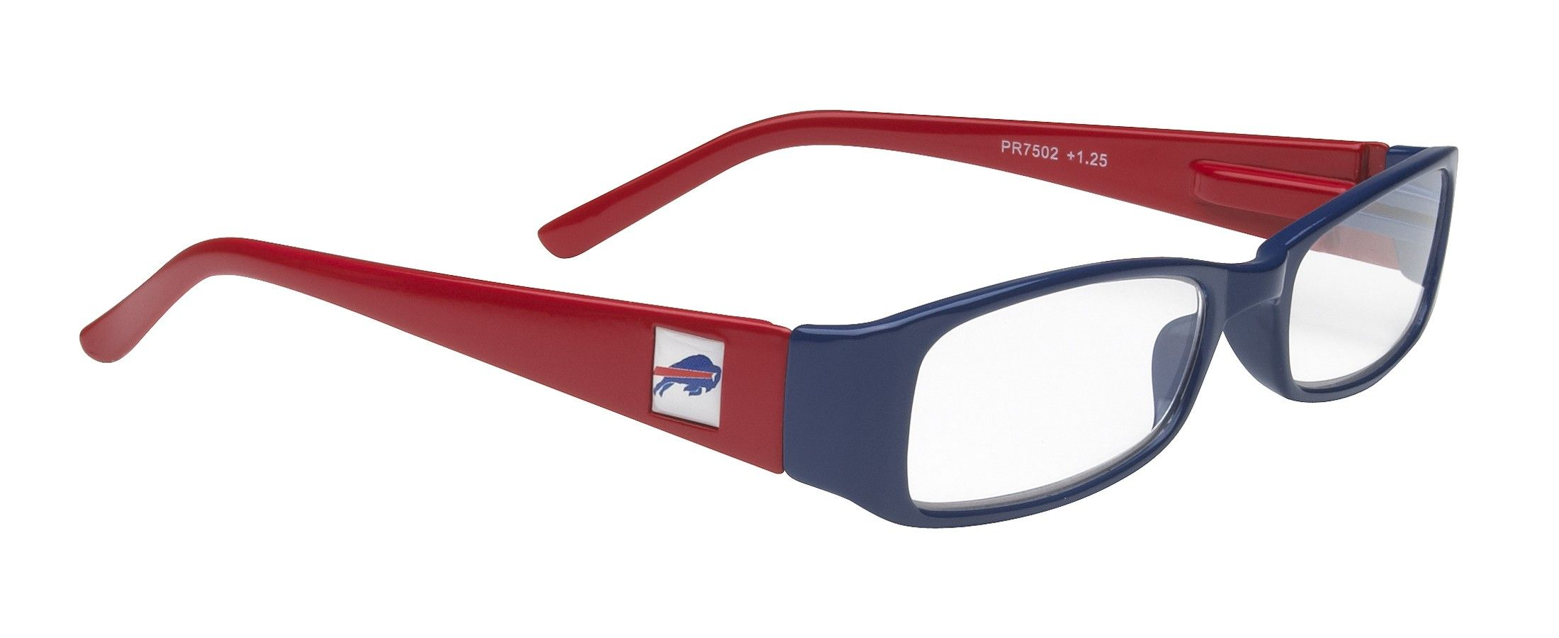 77f99387 NFL Buffalo Bills Reading Glasses, Red and Black Frame with Logo ...