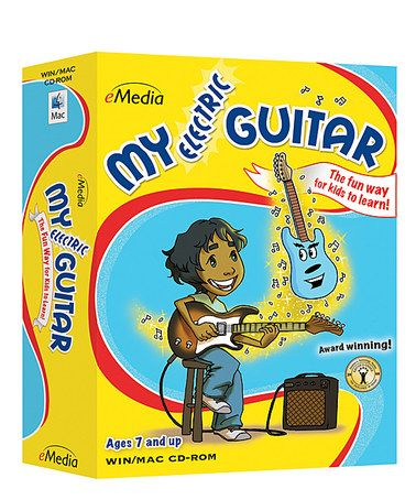 Loving this My Electric Guitar CD-ROM on #zulily! #zulilyfinds