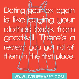 Dating your first love again