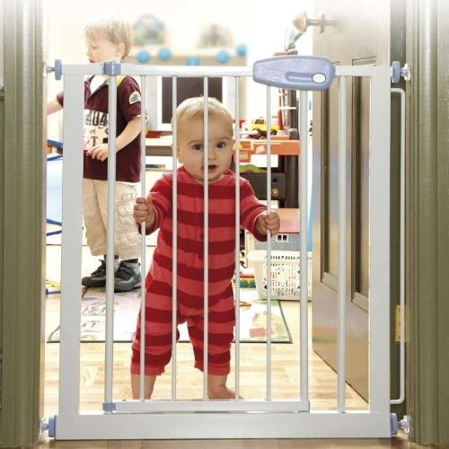 Staying Out Of Unwanted Places Child Safety Gates Home Safety Safety Gate