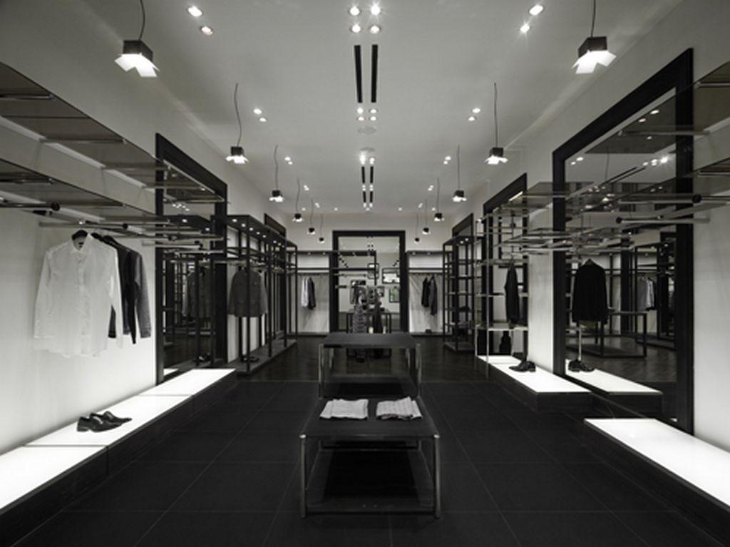 store shop clothes via veneto design interior fashion by