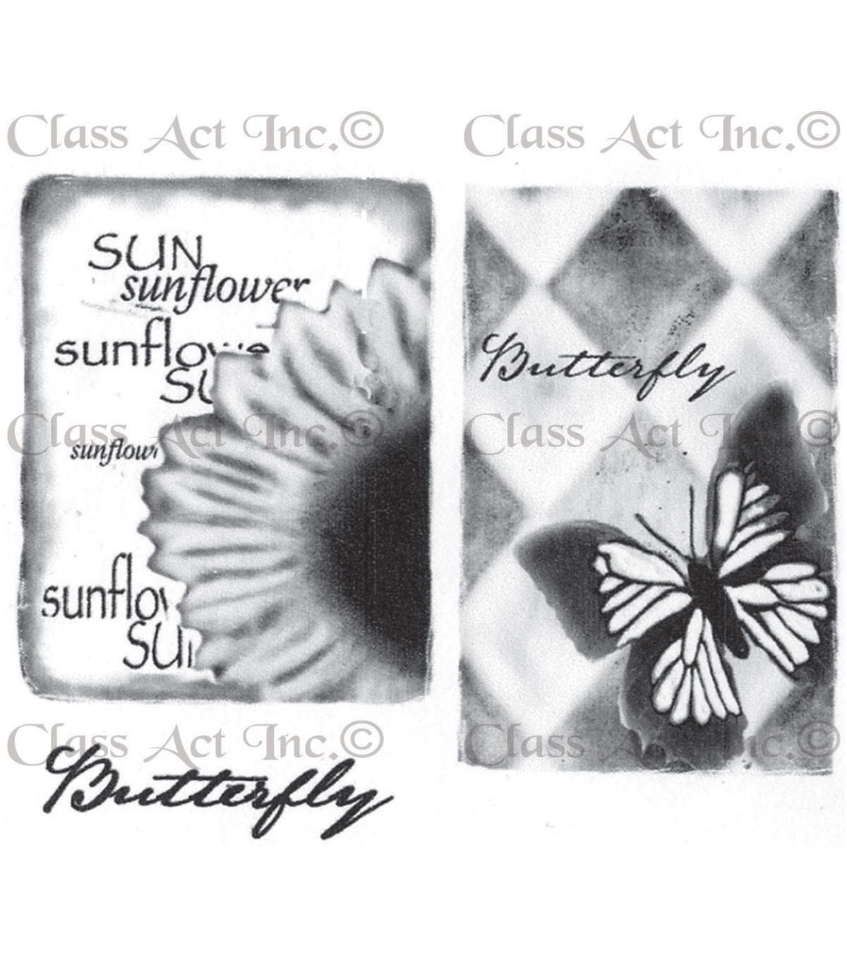 Class Act Chapel Road Cling Mounted Rubber Stamp Set Large Artishapes 2