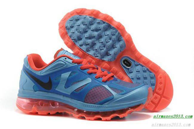 2012 Nike Air Maxes Womens University Blue Bright Crimson White Black  487679 460 aaab04f79