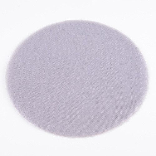 Premium Tulle Circle Silver - 12 inch x 25 Pieces