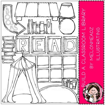 Build A Classroom Clip Art Library By Melonheadz Clipartblack And White Version This Set Contains All Of The Im Clip Art Library Classroom Clipart Clip Art
