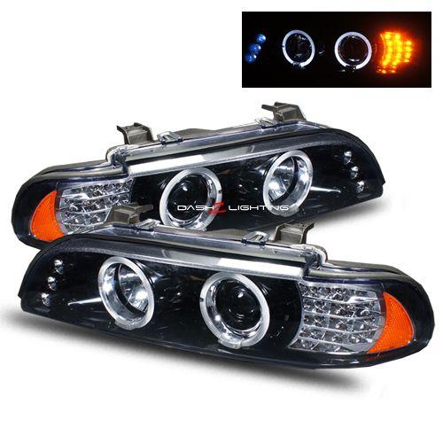 97 03 Bmw E39 Halo Projector Headlights