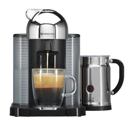 Nespresso Vertuoline With Aeroccino Plus A Gca1 Us Re Ne Chrome Http Nespressoshop Net Nespres Coffee And Espresso Maker Nespresso Nespresso Coffee Maker