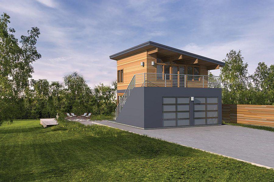 Alder Small Studio Apartment in 2019 | Garage guest house ...