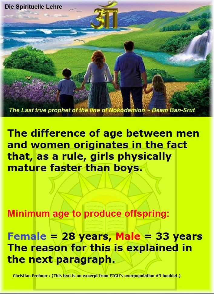 acceptable age difference between man and woman